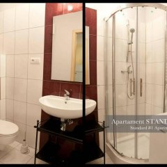 Отель Apartament Polar Польша, Познань - отзывы, цены и фото номеров - забронировать отель Apartament Polar онлайн ванная
