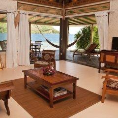 Отель Robinson's Cove Villas - Deluxe Wallis Villa Французская Полинезия, Муреа - отзывы, цены и фото номеров - забронировать отель Robinson's Cove Villas - Deluxe Wallis Villa онлайн комната для гостей фото 5
