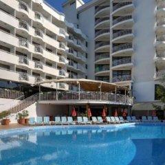 Отель Erma Болгария, Золотые пески - отзывы, цены и фото номеров - забронировать отель Erma онлайн бассейн фото 2