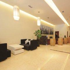 Отель Rayfont Hongqiao Hotel & Apartment Shanghai Китай, Шанхай - 1 отзыв об отеле, цены и фото номеров - забронировать отель Rayfont Hongqiao Hotel & Apartment Shanghai онлайн интерьер отеля