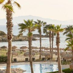 Отель Grecotel Olympia Oasis & Aqua Park Греция, Андравида-Киллини - отзывы, цены и фото номеров - забронировать отель Grecotel Olympia Oasis & Aqua Park онлайн пляж фото 2
