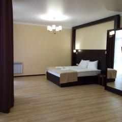 Гостиница Альпен Хаус (Геленджик) комната для гостей фото 2