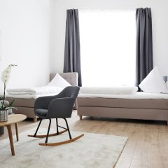 Апартаменты RockChair Apartment Blissestraße Берлин комната для гостей фото 2