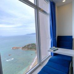 Апартаменты Sunrise Hon Chong Ocean View Apartment Нячанг комната для гостей фото 4
