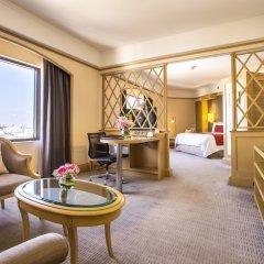 Отель Crowne Plaza Lumpini Park Бангкок комната для гостей фото 3