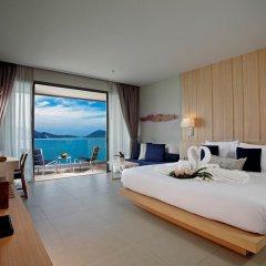 Отель Kalima Resort & Spa, Phuket 5* Семейный номер с видом на море с различными типами кроватей фото 5