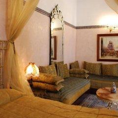 Отель Riad Lalla Zoubida Марокко, Фес - отзывы, цены и фото номеров - забронировать отель Riad Lalla Zoubida онлайн комната для гостей фото 4