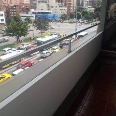 Отель Bogota Plaza Hotel Колумбия, Богота - отзывы, цены и фото номеров - забронировать отель Bogota Plaza Hotel онлайн балкон