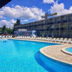 Отель Continental - Happy Land Hotel Болгария, Солнечный берег - отзывы, цены и фото номеров - забронировать отель Continental - Happy Land Hotel онлайн бассейн