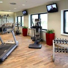 Отель Novotel Muenchen Airport Фрайзинг фитнесс-зал фото 2