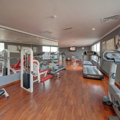 Ascot Hotel Дубай фитнесс-зал фото 2