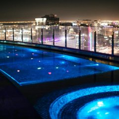 Отель Andaz Capital Gate Abu Dhabi - A Concept By Hyatt Абу-Даби бассейн фото 2