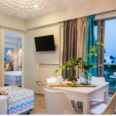 Апартаменты Natali Apartments комната для гостей фото 4