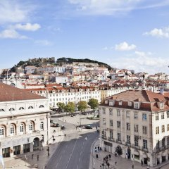 Отель Avenida Palace Лиссабон балкон