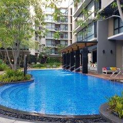 Отель At Mind Serviced Residence Pattaya бассейн
