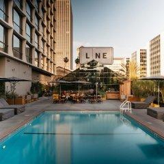 Отель The Line США, Лос-Анджелес - отзывы, цены и фото номеров - забронировать отель The Line онлайн бассейн