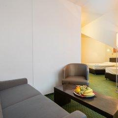 Novum Hotel Vitkov комната для гостей фото 13