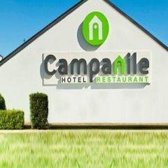 Отель Campanile Toulouse Sesquieres Франция, Тулуза - 1 отзыв об отеле, цены и фото номеров - забронировать отель Campanile Toulouse Sesquieres онлайн приотельная территория