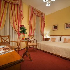 Отель PODHRAD Глубока-над-Влтавой комната для гостей фото 5