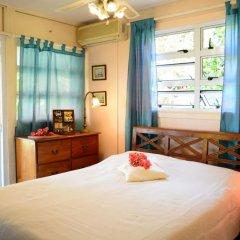Отель Maison Te Vini Holiday home 3 Французская Полинезия, Пунаауиа - отзывы, цены и фото номеров - забронировать отель Maison Te Vini Holiday home 3 онлайн комната для гостей фото 3