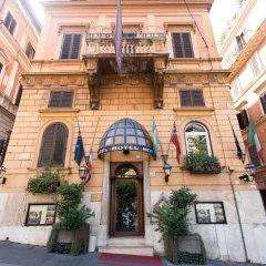 Отель Al Manthia Hotel Италия, Рим - 2 отзыва об отеле, цены и фото номеров - забронировать отель Al Manthia Hotel онлайн вид на фасад