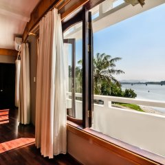 Отель Huong Giang Hotel Resort & Spa Вьетнам, Хюэ - 1 отзыв об отеле, цены и фото номеров - забронировать отель Huong Giang Hotel Resort & Spa онлайн балкон