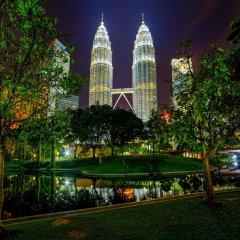 Отель Casa Residency Condomonium Малайзия, Куала-Лумпур - отзывы, цены и фото номеров - забронировать отель Casa Residency Condomonium онлайн приотельная территория фото 2