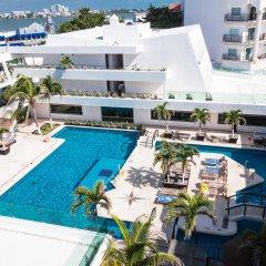 Отель Flamingo Cancun Resort Мексика, Канкун - отзывы, цены и фото номеров - забронировать отель Flamingo Cancun Resort онлайн бассейн фото 2