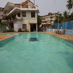 Отель OYO 12423 Home Pool View 1BHK Candolim Гоа бассейн