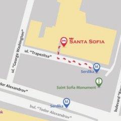 Отель Santa Sofia Болгария, София - отзывы, цены и фото номеров - забронировать отель Santa Sofia онлайн городской автобус