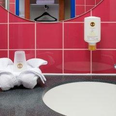 Отель B&B Hotel Munchen City-Nord Германия, Мюнхен - отзывы, цены и фото номеров - забронировать отель B&B Hotel Munchen City-Nord онлайн ванная