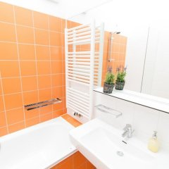 Апартаменты Leonhard Apartments Vienna Вена ванная