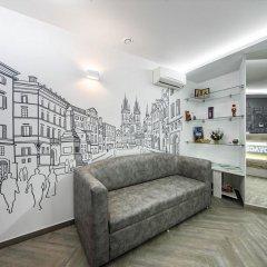 Hotel Sacvoyage Львов комната для гостей фото 3