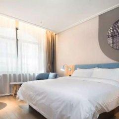 Отель Home Inn (Xi'an Fengcheng 2nd Road) Китай, Сиань - отзывы, цены и фото номеров - забронировать отель Home Inn (Xi'an Fengcheng 2nd Road) онлайн комната для гостей фото 2