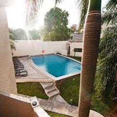 Отель Villa Italia Мексика, Канкун - отзывы, цены и фото номеров - забронировать отель Villa Italia онлайн бассейн фото 2