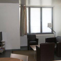 Отель Downtown Residence Brussels Бельгия, Брюссель - отзывы, цены и фото номеров - забронировать отель Downtown Residence Brussels онлайн комната для гостей фото 2