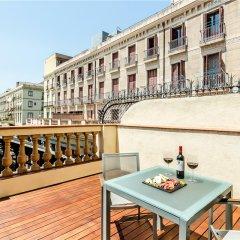 Отель Exe Ramblas Boqueria балкон