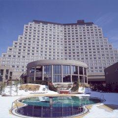 Hotel Listel Inawashiro Main Building Condominium Айдзувакамацу вид на фасад
