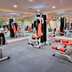 Signature Hotel Al Barsha фитнесс-зал фото 2