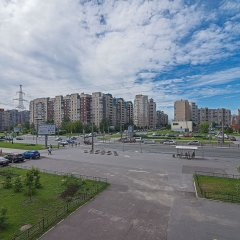 Отель FlatHome24 metro Komendanskiy prospect Санкт-Петербург парковка