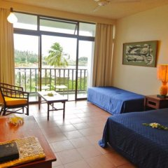 Отель Savusavu Hot Springs Hotel Фиджи, Савусаву - отзывы, цены и фото номеров - забронировать отель Savusavu Hot Springs Hotel онлайн комната для гостей фото 3