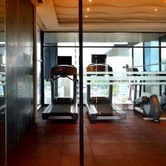 Отель AETAS lumpini фитнесс-зал фото 3