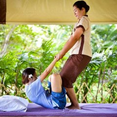 Отель The Mangrove Panwa Phuket Resort фитнесс-зал