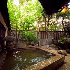 Отель Ryokan Kiraku Беппу ванная