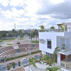Отель Cache Hotel Boutique - Только для взрослых Мексика, Плая-дель-Кармен - отзывы, цены и фото номеров - забронировать отель Cache Hotel Boutique - Только для взрослых онлайн балкон