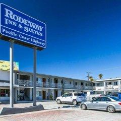 Отель Rodeway Inn & Suites Pacific Coast Highway США, Лос-Анджелес - отзывы, цены и фото номеров - забронировать отель Rodeway Inn & Suites Pacific Coast Highway онлайн парковка