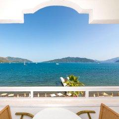 Honeymoon Hotel Турция, Мармарис - отзывы, цены и фото номеров - забронировать отель Honeymoon Hotel онлайн балкон