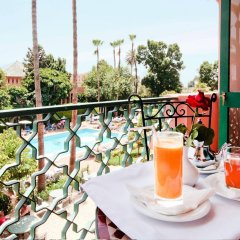 Отель Chems Марокко, Марракеш - отзывы, цены и фото номеров - забронировать отель Chems онлайн балкон
