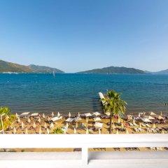 Honeymoon Hotel Турция, Мармарис - отзывы, цены и фото номеров - забронировать отель Honeymoon Hotel онлайн пляж