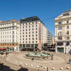 Отель Austria Trend Hotel Europa Wien Австрия, Вена - 10 отзывов об отеле, цены и фото номеров - забронировать отель Austria Trend Hotel Europa Wien онлайн вид на фасад